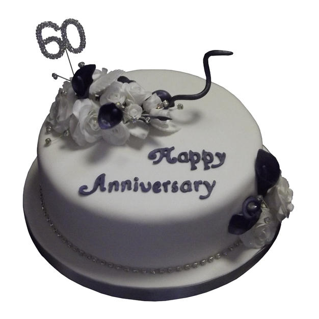 60th Anniversary Cake from £95
