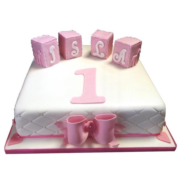 1st Birthday Cake from £125