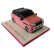 Pink Range Rover Cake from £110