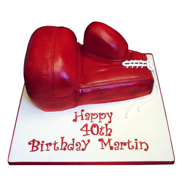 Boxing Glove Cake from £150