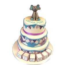 Elephant Christening Cake from £250