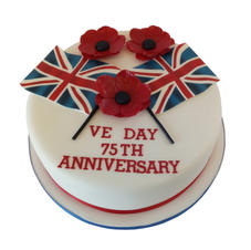 VE Day Anniversary Cake from £95