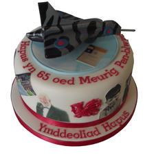 Vulcan Bomber Cake from £125