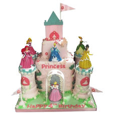 Princess Castle Cake from £200