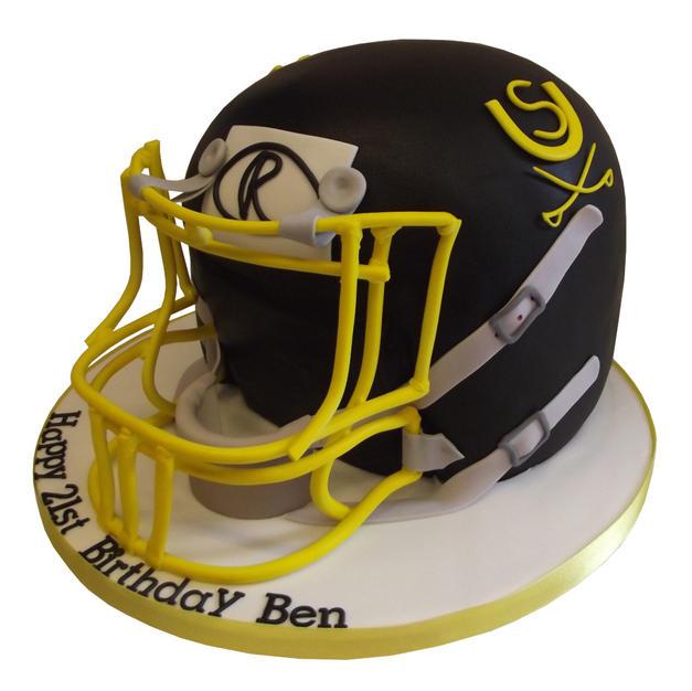 American Football Helmet Cake from £175