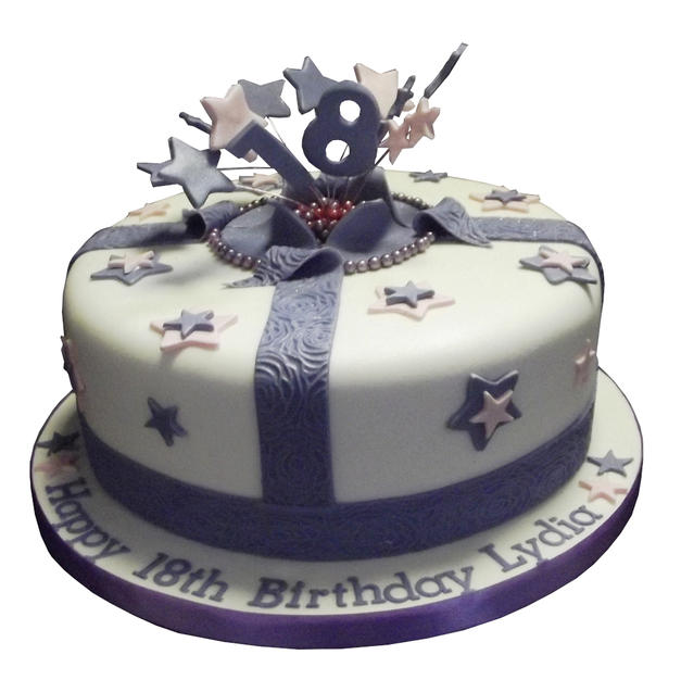 Exploding Parcel Cake from £80