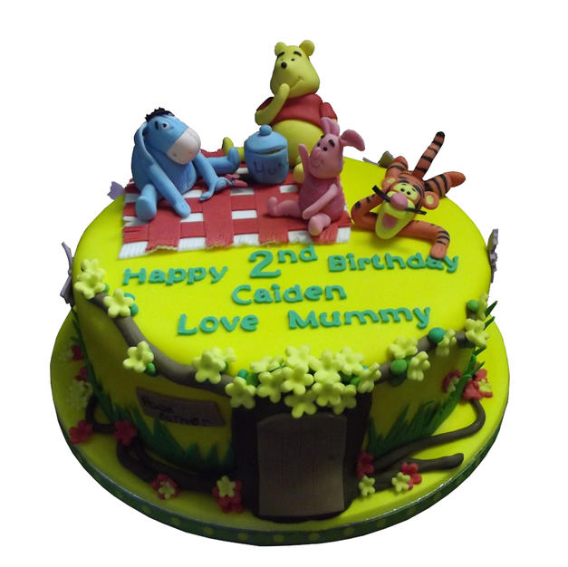 Winnie The Pooh Cake from £95