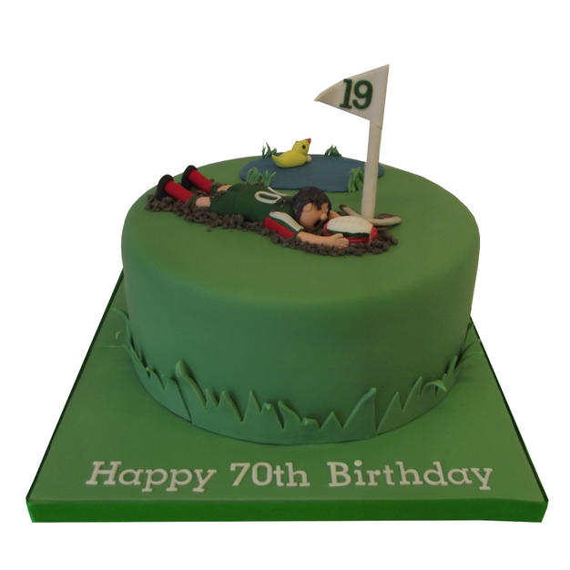 Golf-Rugby Cake from £80