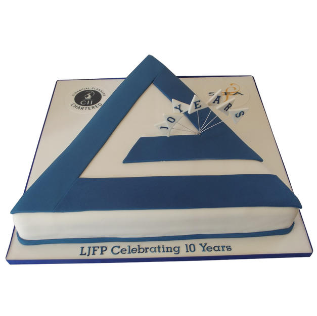 Corporate Logo Cake from £250