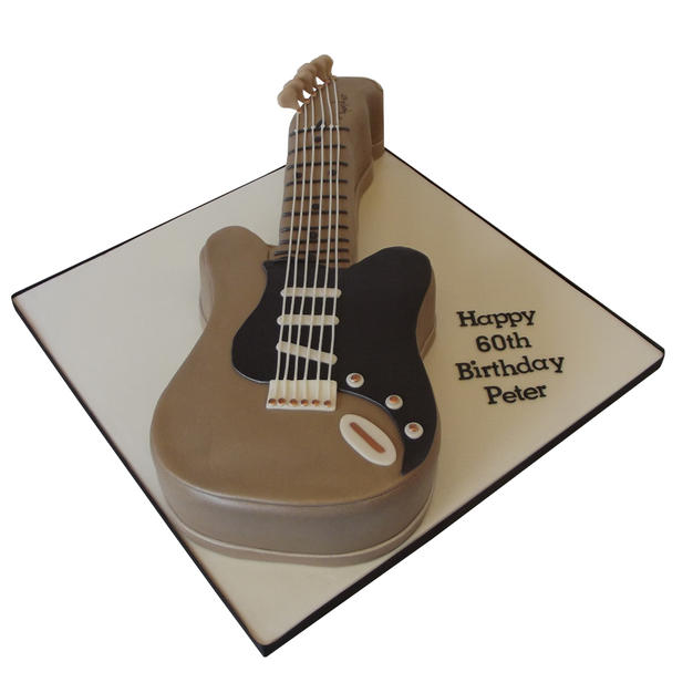 Guitar Cake from £135