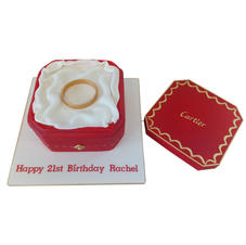 Cartier Cake with Removeable Lid from £150