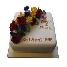 60th Anniversary Cake from £110