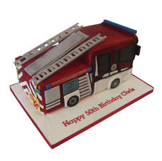 Fire Engine Cake from £175