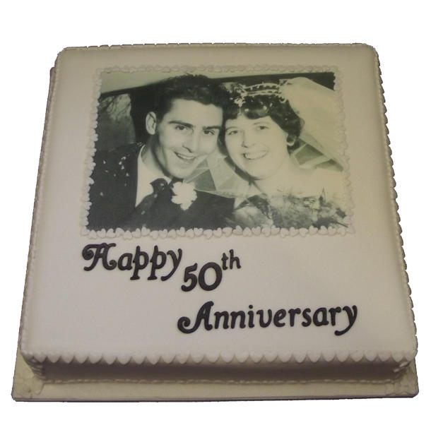 50th Anniversary Cake from £110