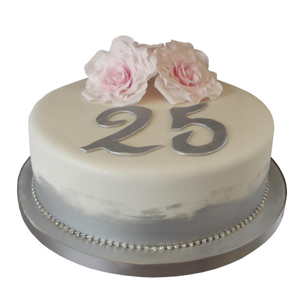 25th Anniversary Cake from £100