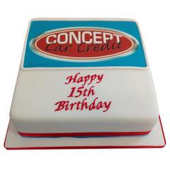 Corporate Birthday Cake from £150