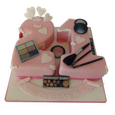 21st Birthday Cake with Make-up from £125