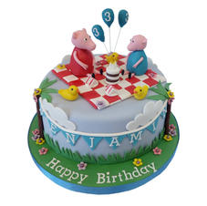 Peppa Pig Cake from £90