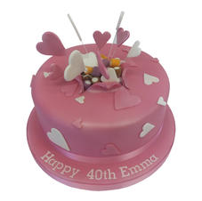 40th Birthday Cake from £80