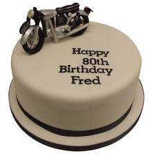 Norton Bike Cake from £90