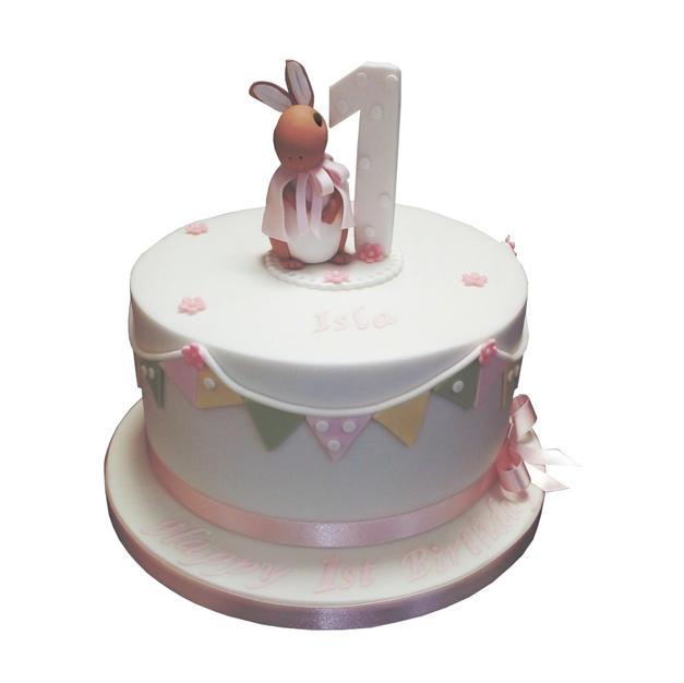 Peter Rabbit Christening Cake from £100