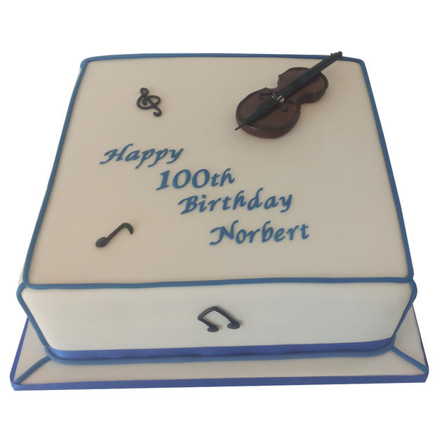 100th Birthday Cake from £160