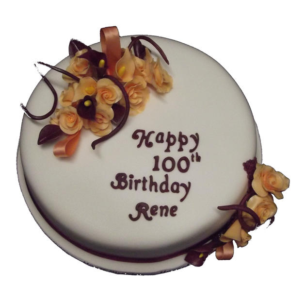 100th Birthday Cake from £110