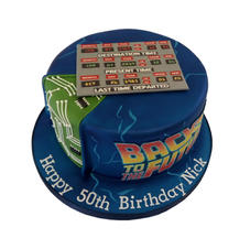 Back to the Future Cake from £80