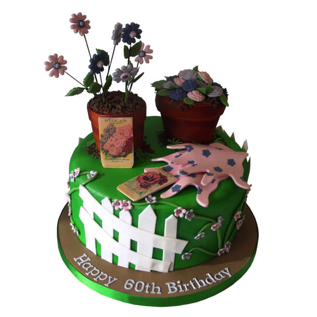 Flower Pot Cake from £95