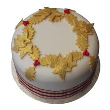 6 Inch Christmas Cake £50