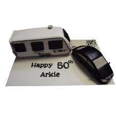 Car & Caravan Cake from £150