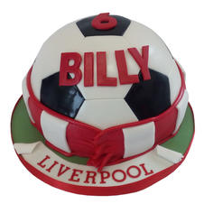 Liverpool Football Cake from £85