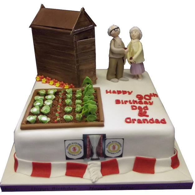 Allotment Cake from £175