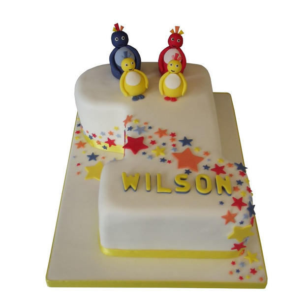 1st Birthday Cake with Twirlywoos from £125