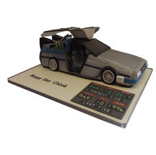 BTTF DeLorean Car Cake from £250