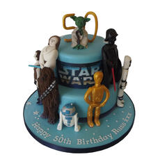 Star Wars Theme Cake from £175