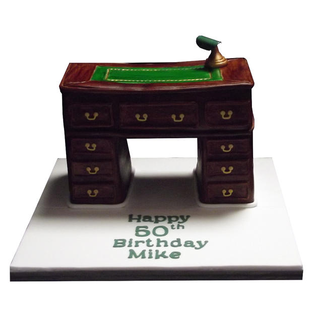 Antique Desk Cake from £150