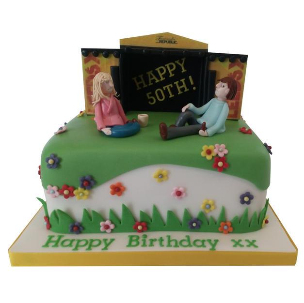 Festival Cake from £125