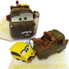 Tow Mater Cake from £175
