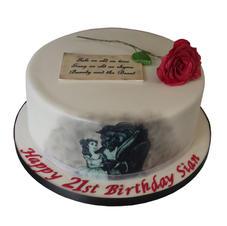 Beauty & Beast Cake from £125