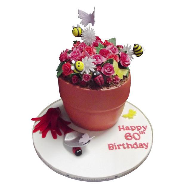 Flower Pot Cake from £125
