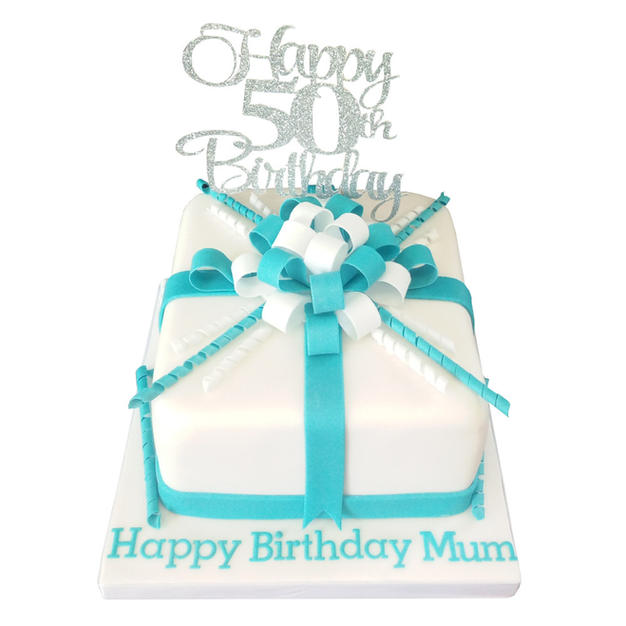 50th Birthday Cake from £90