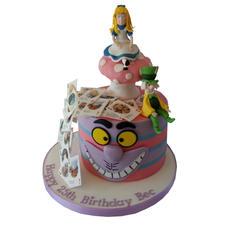 Alice in Wonderland Cake from £110