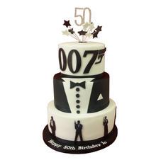 James Bond Cake from £250