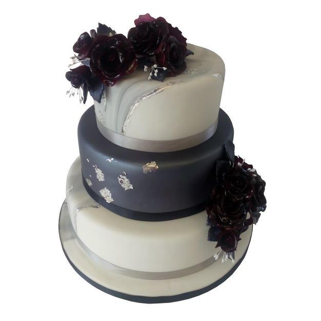 Marbled Wedding Cake