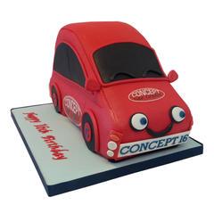 Cartoon Car Cake from £175