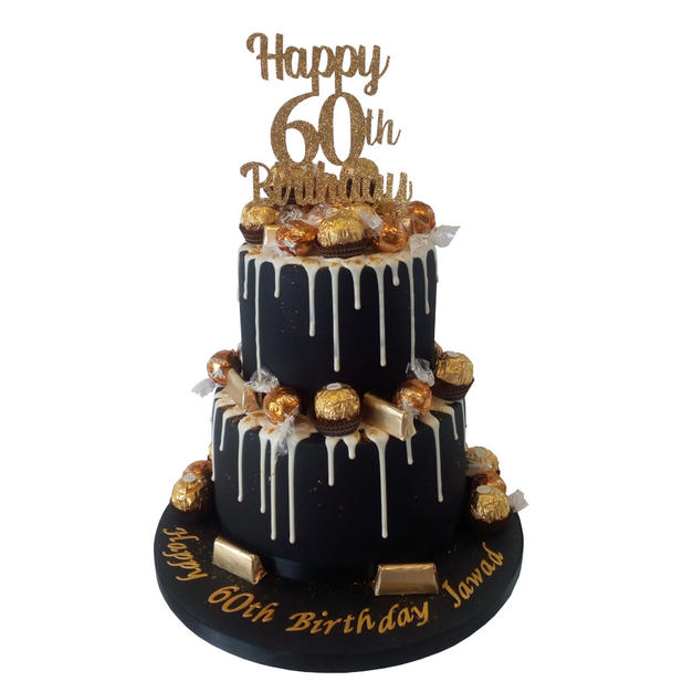 60th Birthday Cake from £175