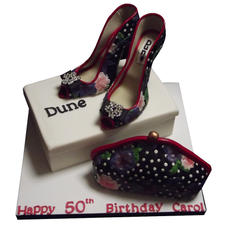 Stilettos & Handbag Cake from £250