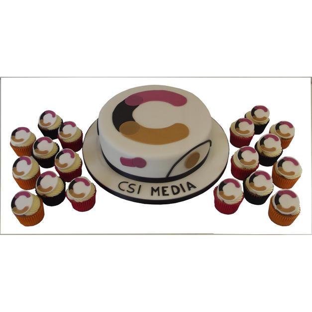 Logo Cake & Cupcakes