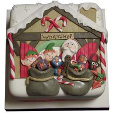 6 Inch Christmas Cake £70